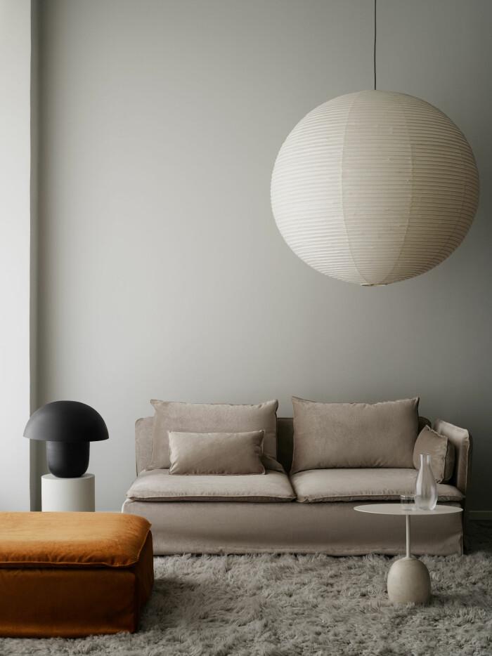 ikea-soffa med överdrag från bemz ger en ny look