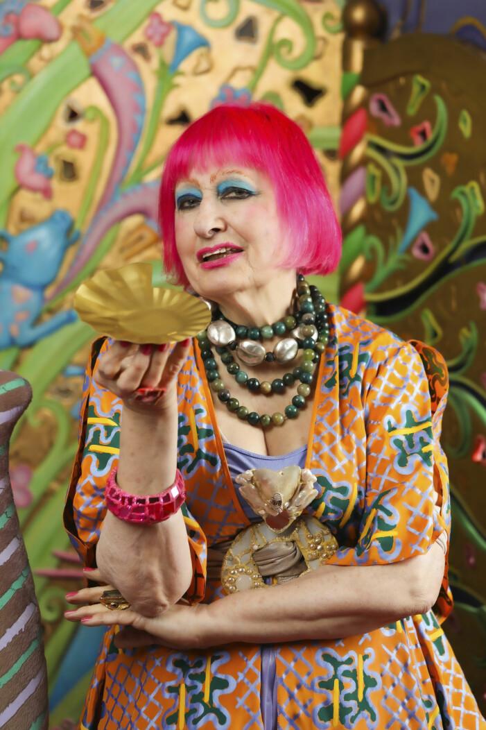Zandra Rhodes samarbetar med Ikea