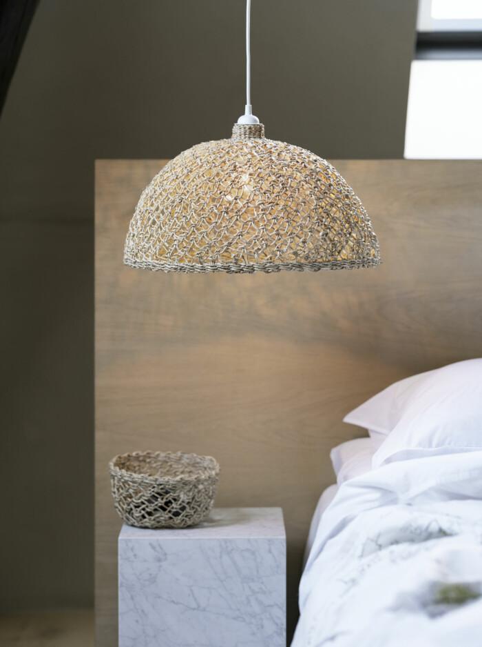 Ikeas nya kollektion Lokalt pläd lampskärm