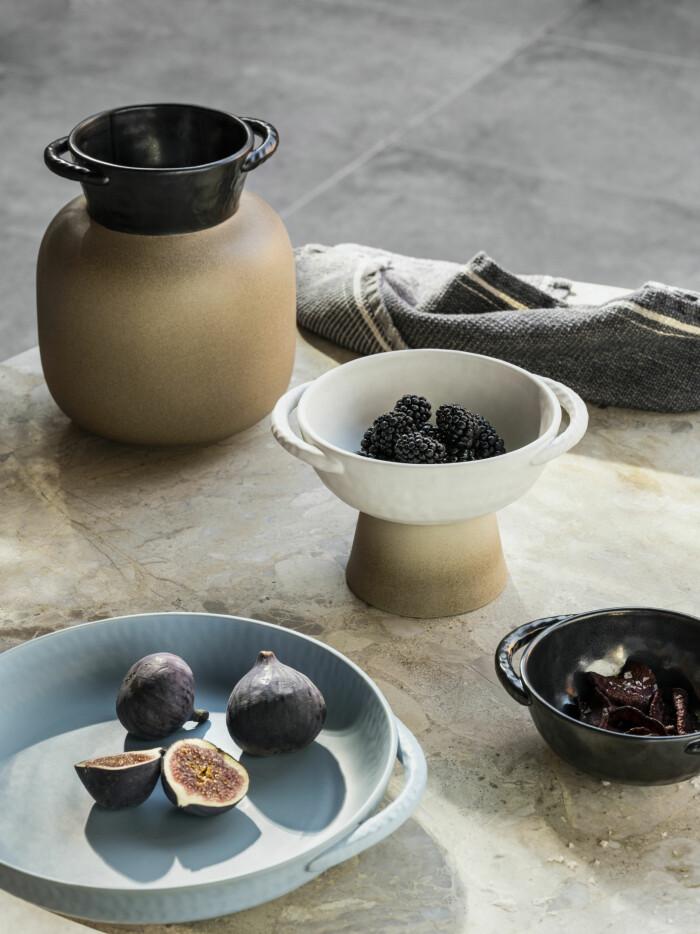 Ikeas nya kollektion Lokalt pläd keramik