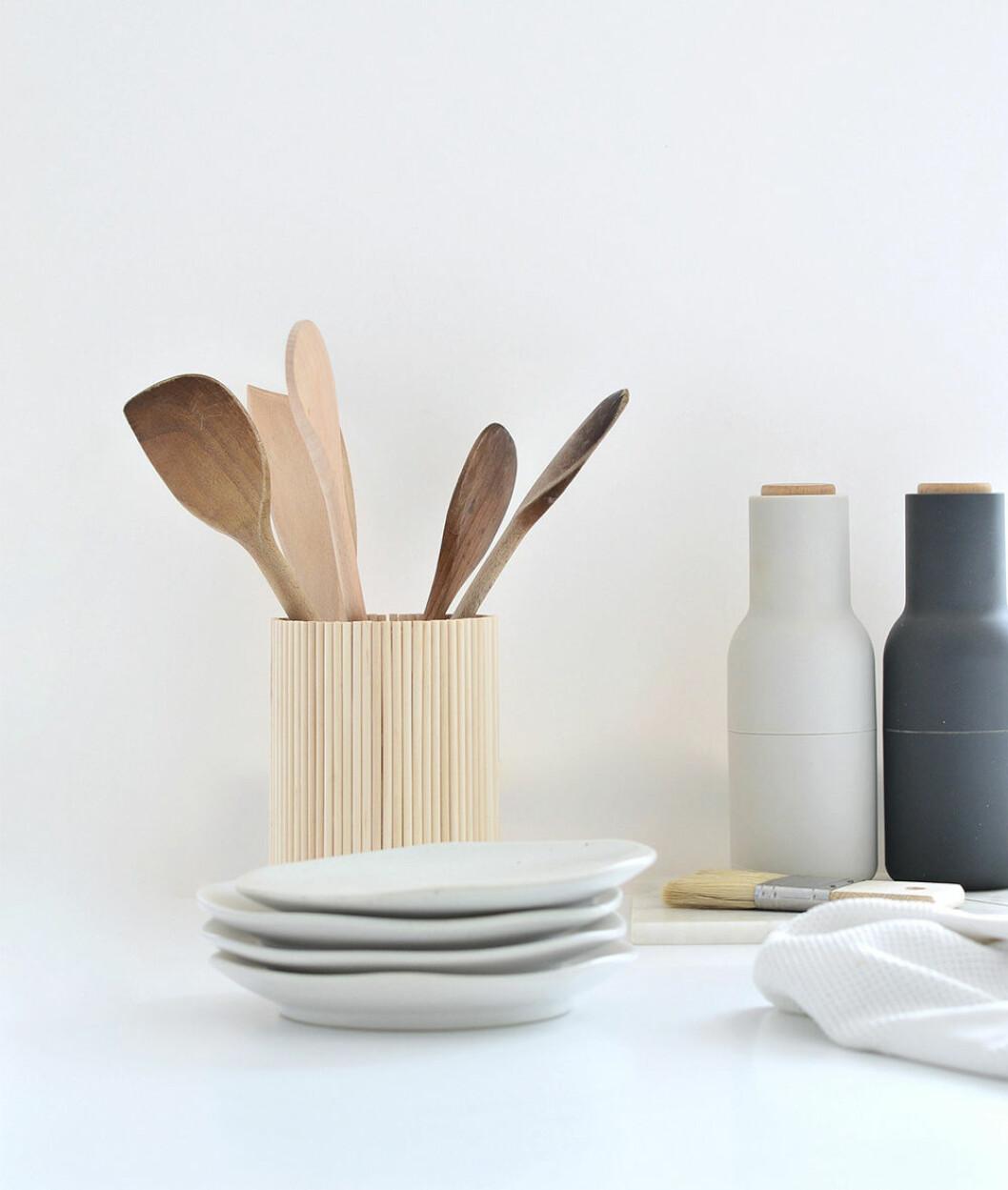 Ikeahack - ställ för köksredskap