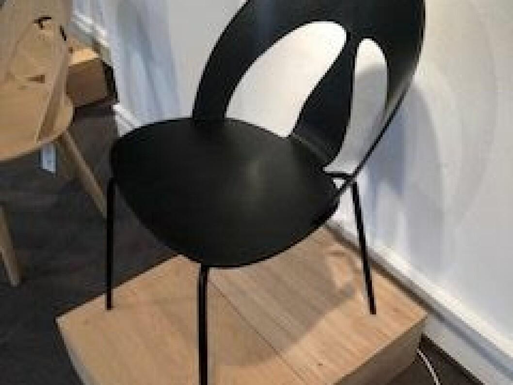 Skal-stol Børge Mogensen