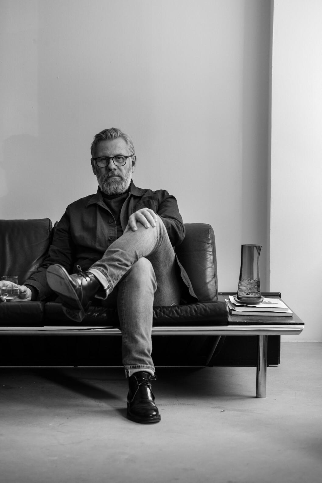 Industridesignern Björn Dahlström.