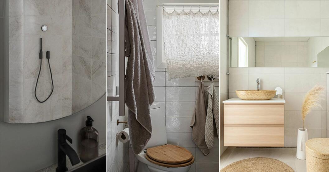 Så lever du mer hållbart, fem effektiva knep för badrummet