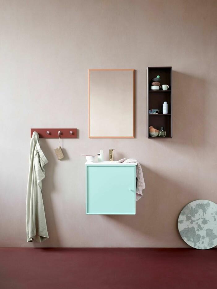Så inreder du med färg i badrummet, mixa och matcha