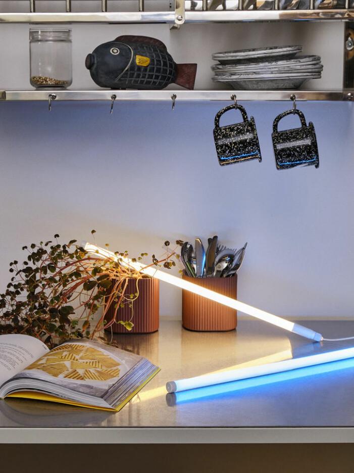 Inred med neon hemma, Neon tube från Hay