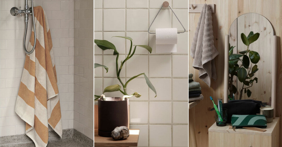 Trendiga detaljer till badrummet, shoppingtips till badrummet