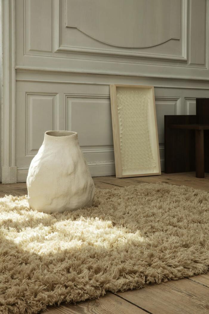 Flauschiger Teppich von Ferm Living