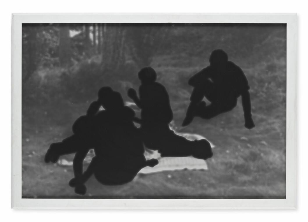 Fotografiet signerat av Maria Miesenberger är det dyraste objektet i samlingen.