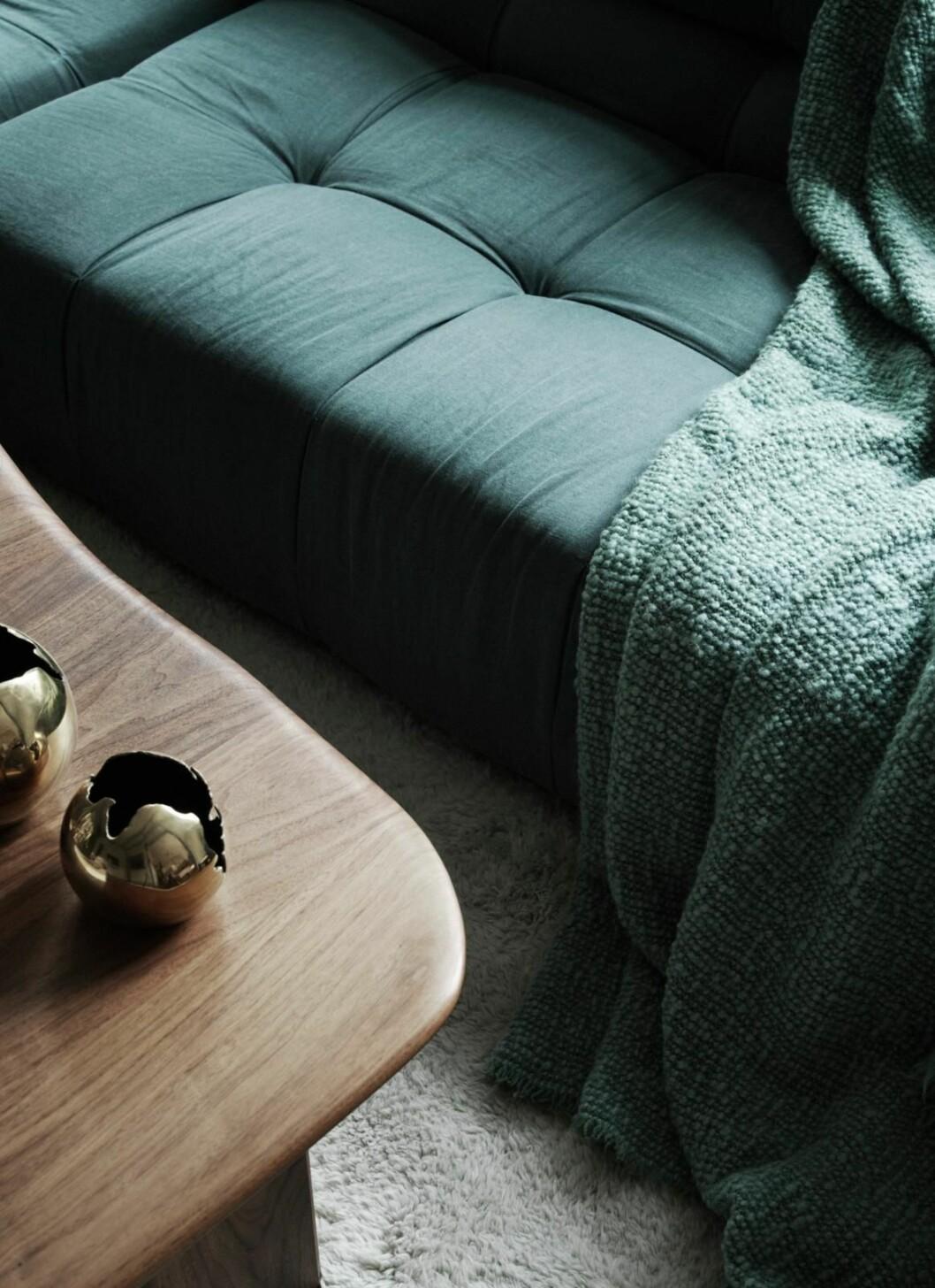 Detalj soffa Joanna Laven