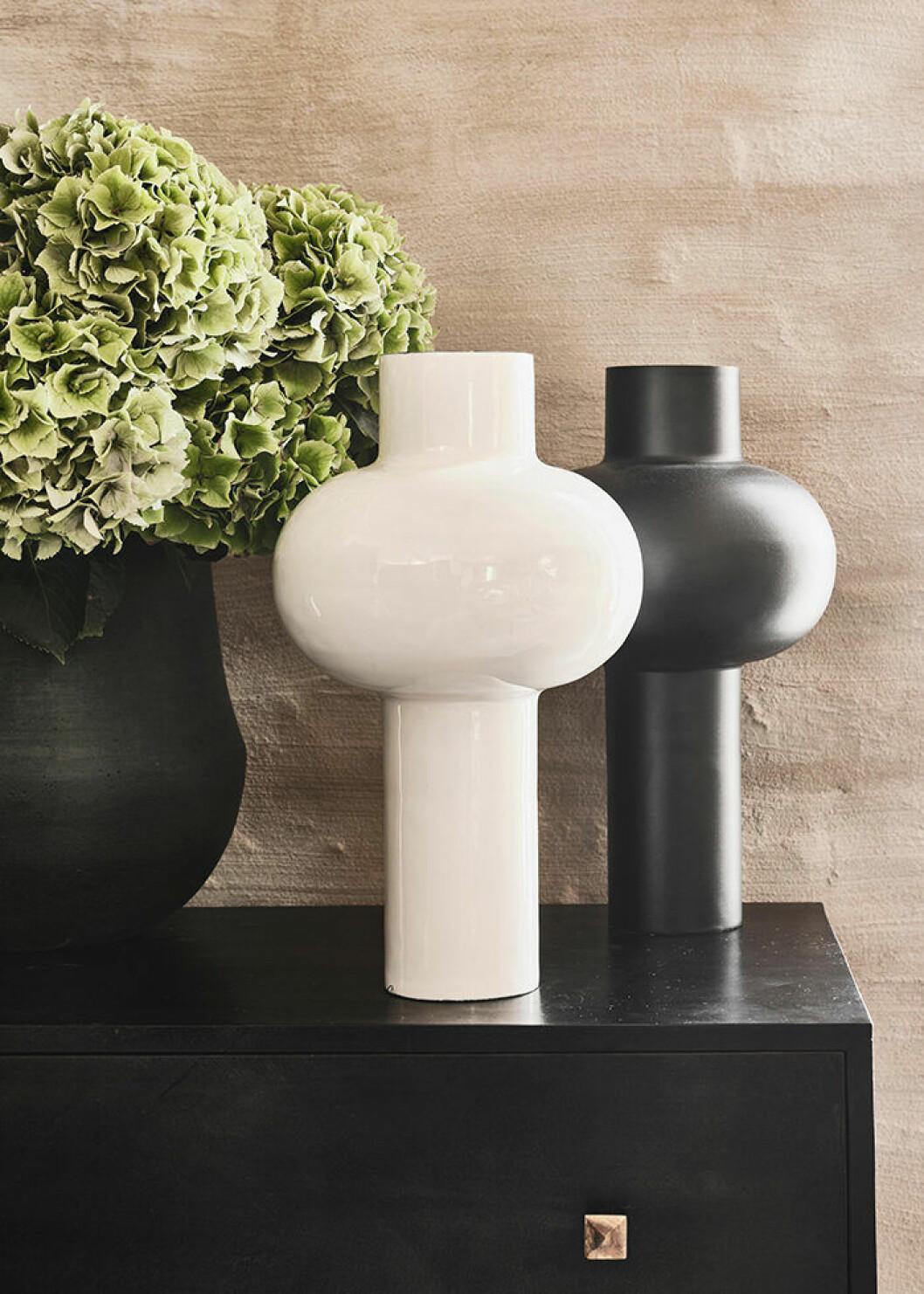 Dekorativa vaser från Jotex hösten 2019