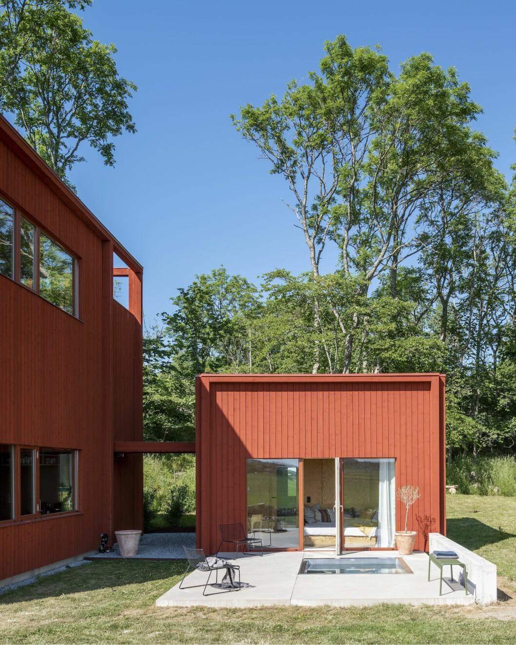 Gästhuset byggdes till för att komplettera Villa Späckhuggaren.