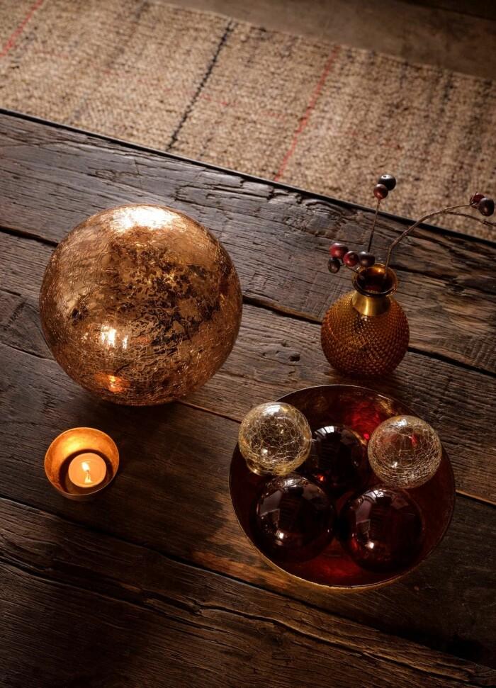 julgranskulor i skål från Zara Home