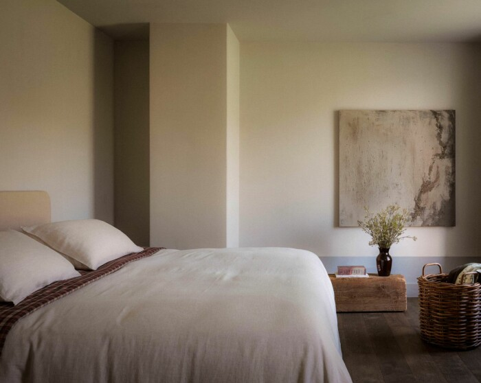 sovrum i beige från zara home