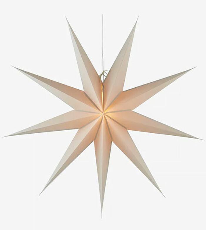 Beige julstjärna från Jotex