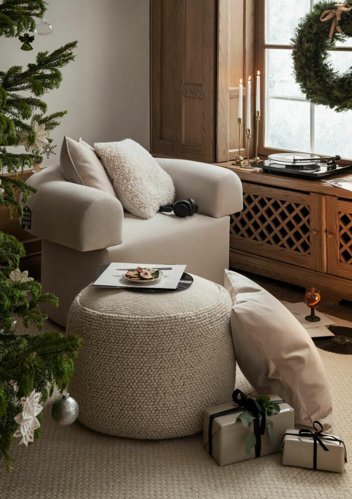 Julen på H&M Home 2021, kuddar och plädar