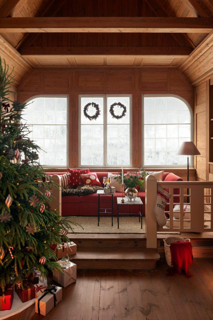 Julen på H&M Home 2021, rött