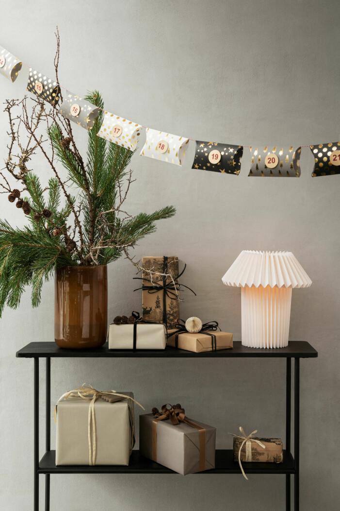 Julen på H&M Home 2021, juldekorationer och girlanger