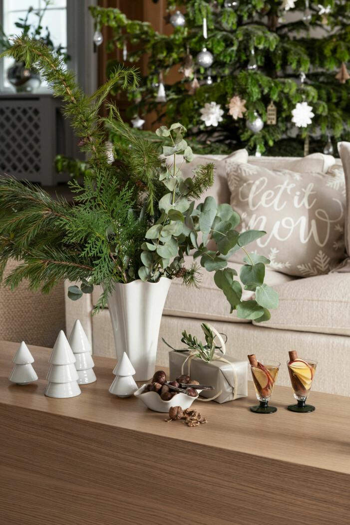 Julen på H&M Home 2021, juldekorationer
