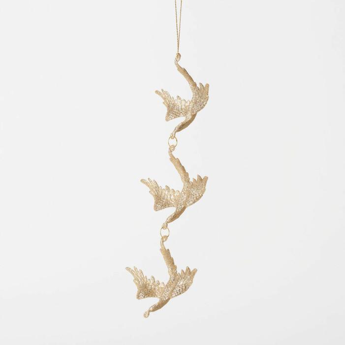Julgranshänge med fåglar, Åhléns