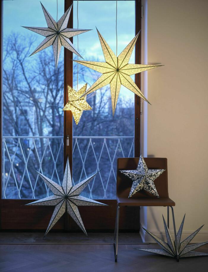 Jultrender 2021, julstjärnor från Ikea