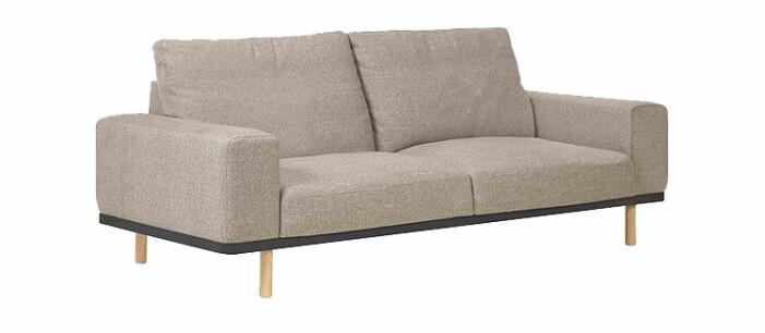 soffa med djupt sittdjup