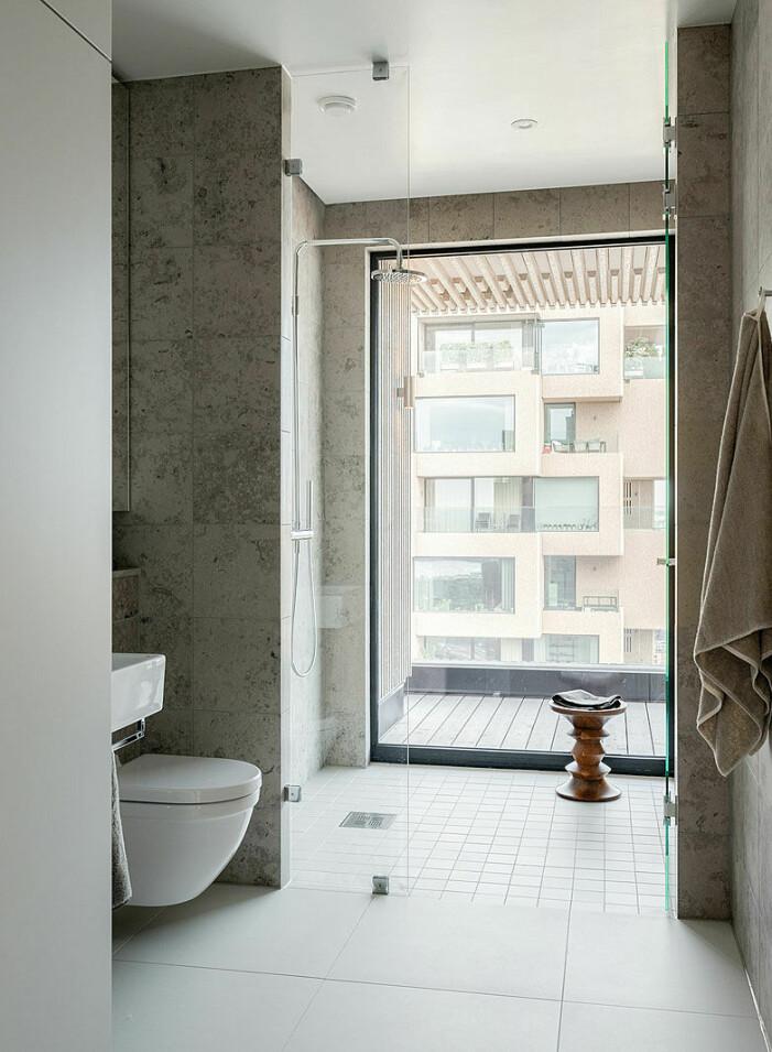 Penthouse till salu i Norra tornen, dusch