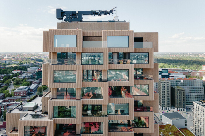 Penthouse till salu i Norra tornen
