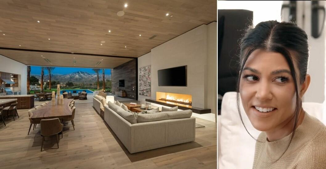 Kourtney Kardashian har en ny villa i öknen.