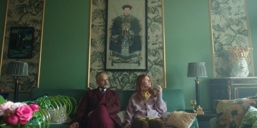 Klara und Hjerson in dem vom Innenarchitekten Pontus Nilvander eingerichteten Haus.