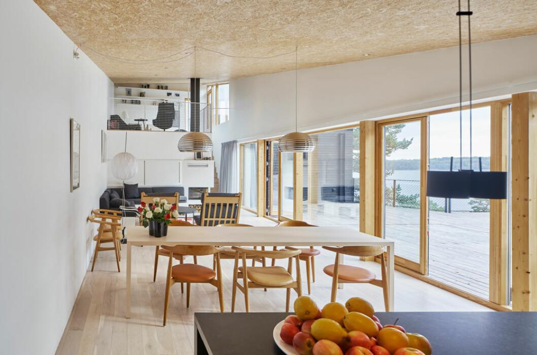 Arkitektritad villa stockholm skärgård