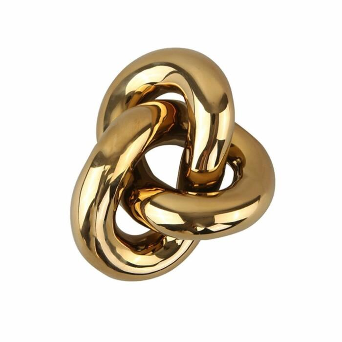 knot från cooee i guld