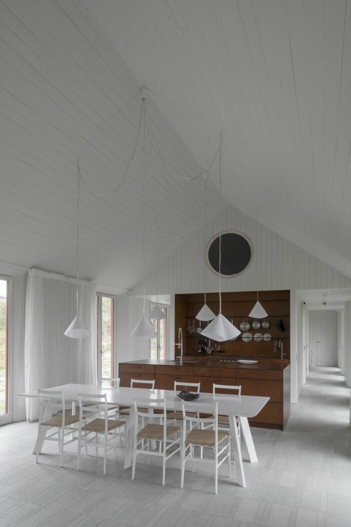 Kök hemma hos Gert Wingårdh på Äggdal