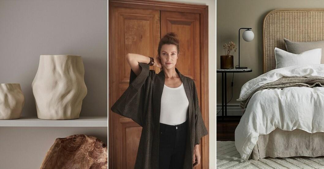 Inredningskollektionen är ett samarbete mellan Marie Olsson Nylander och Ellos.