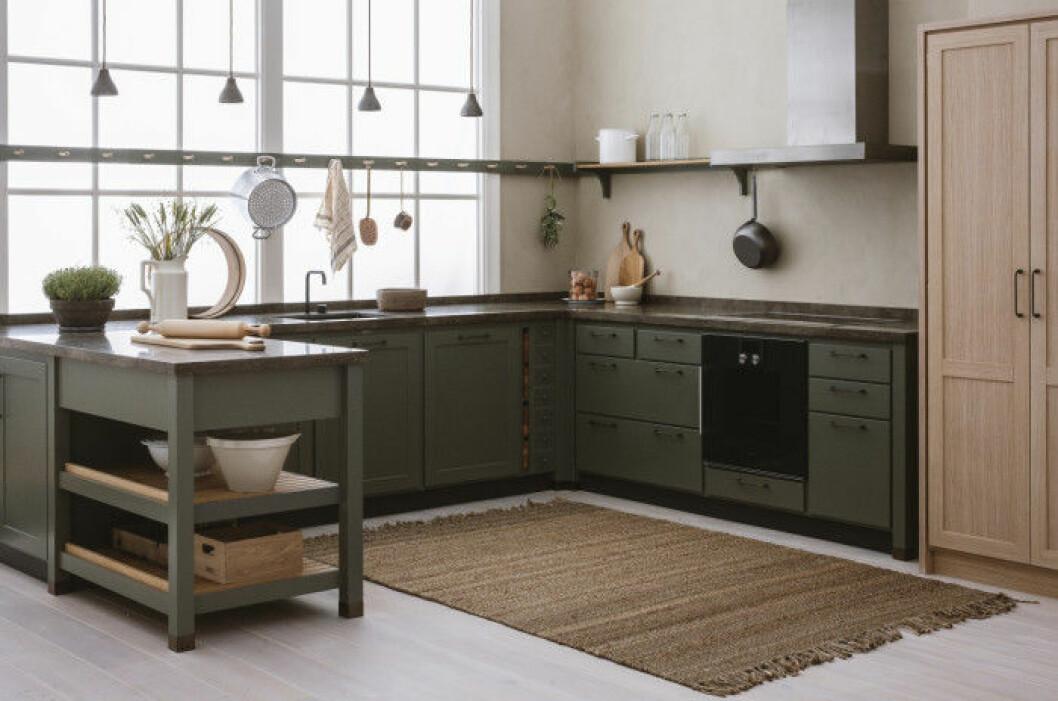 Cool Classic är en blandning av ett modernt och klassiskt kök.