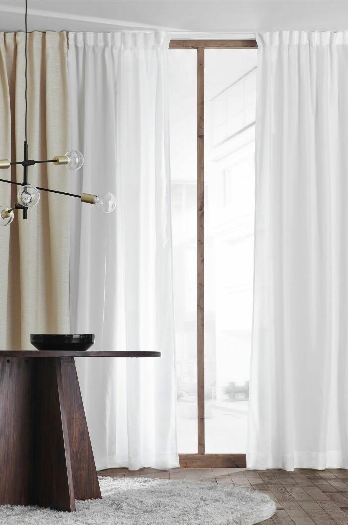 långa gardiner