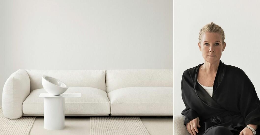 Layereds första kollektion skapad av en extern designer – inredaren Lotta Agaton.