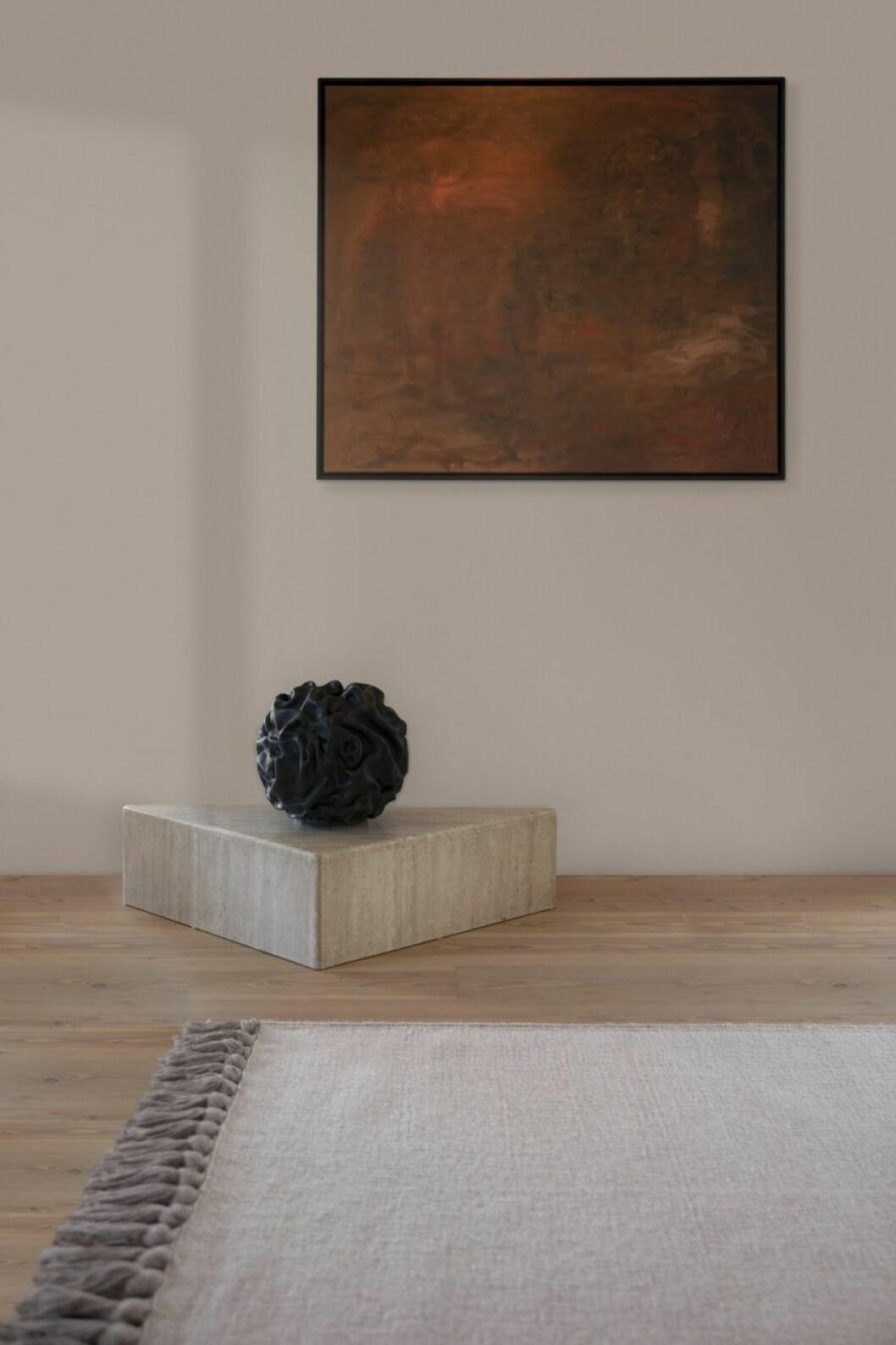 Layeredmatta skulptur Sofia Tufvasson