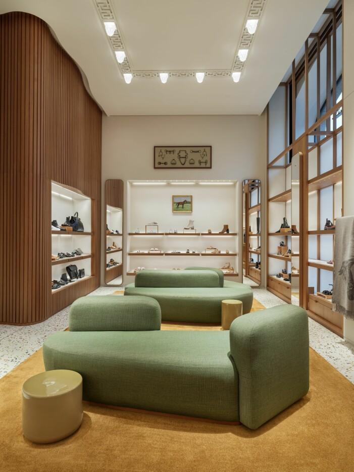 Hermèsbutiken i Stockholm