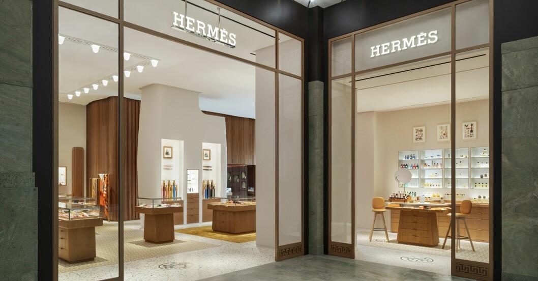 Hermesbutiken i Stockholm