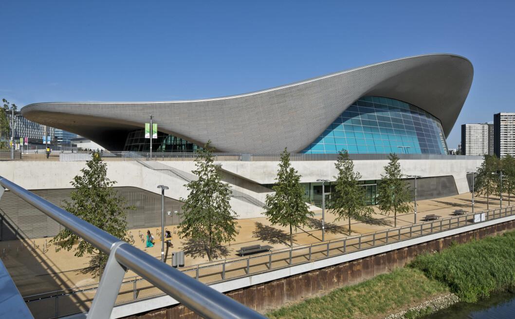 London Aquatics Centre, Storbritannien