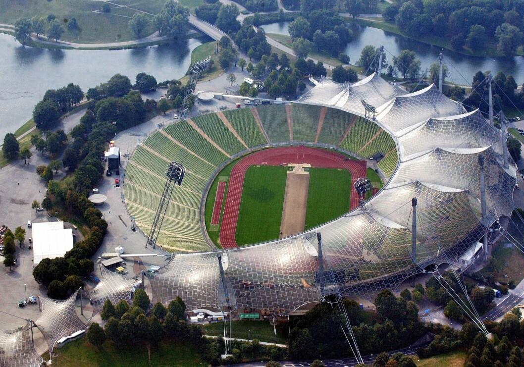 Münchens Olympiastadium, OS München 1972