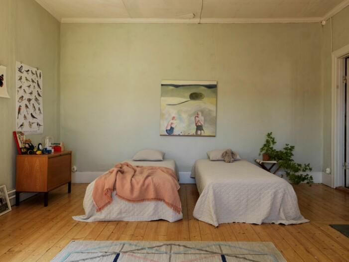 Jugendvilla in Flen in Sörmland, Schlafzimmer