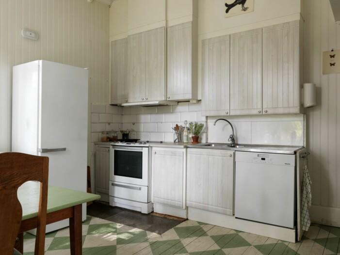 Jugendvilla in Flen in Sörmland, Küche