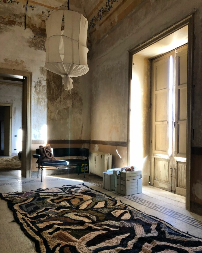 Hemma hos Marie Olsson Nylander i Palazzo Cirillo på Sicilien