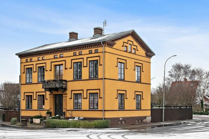 Marie Olsson Nylanders hus i Höganäs