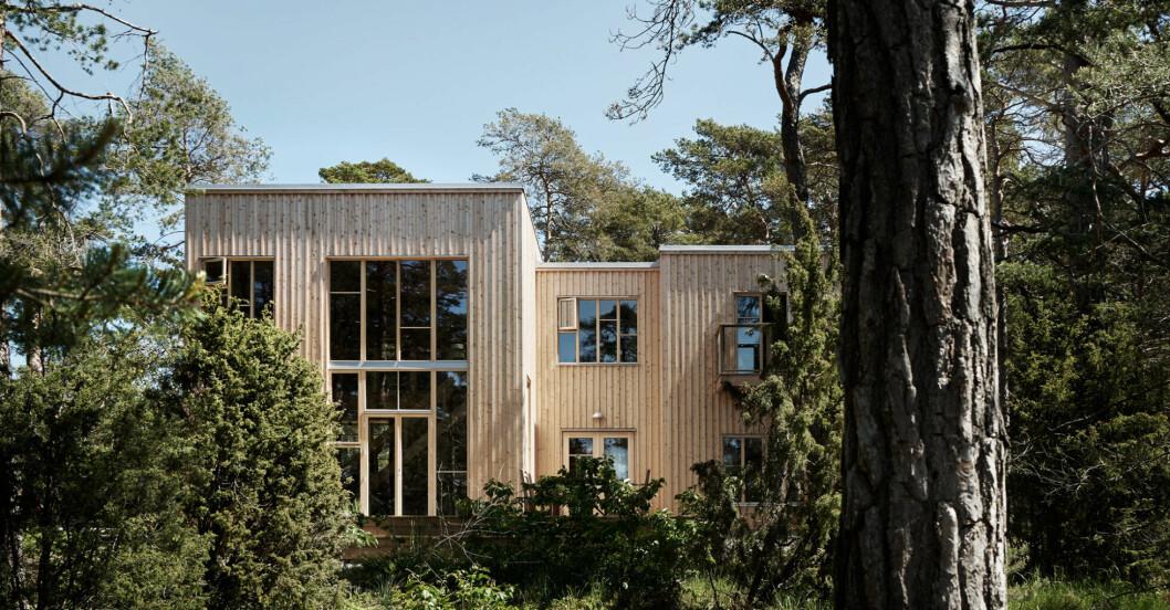 Trähus på Gotland