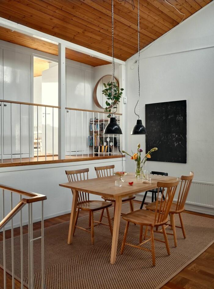 matrum med balustrad