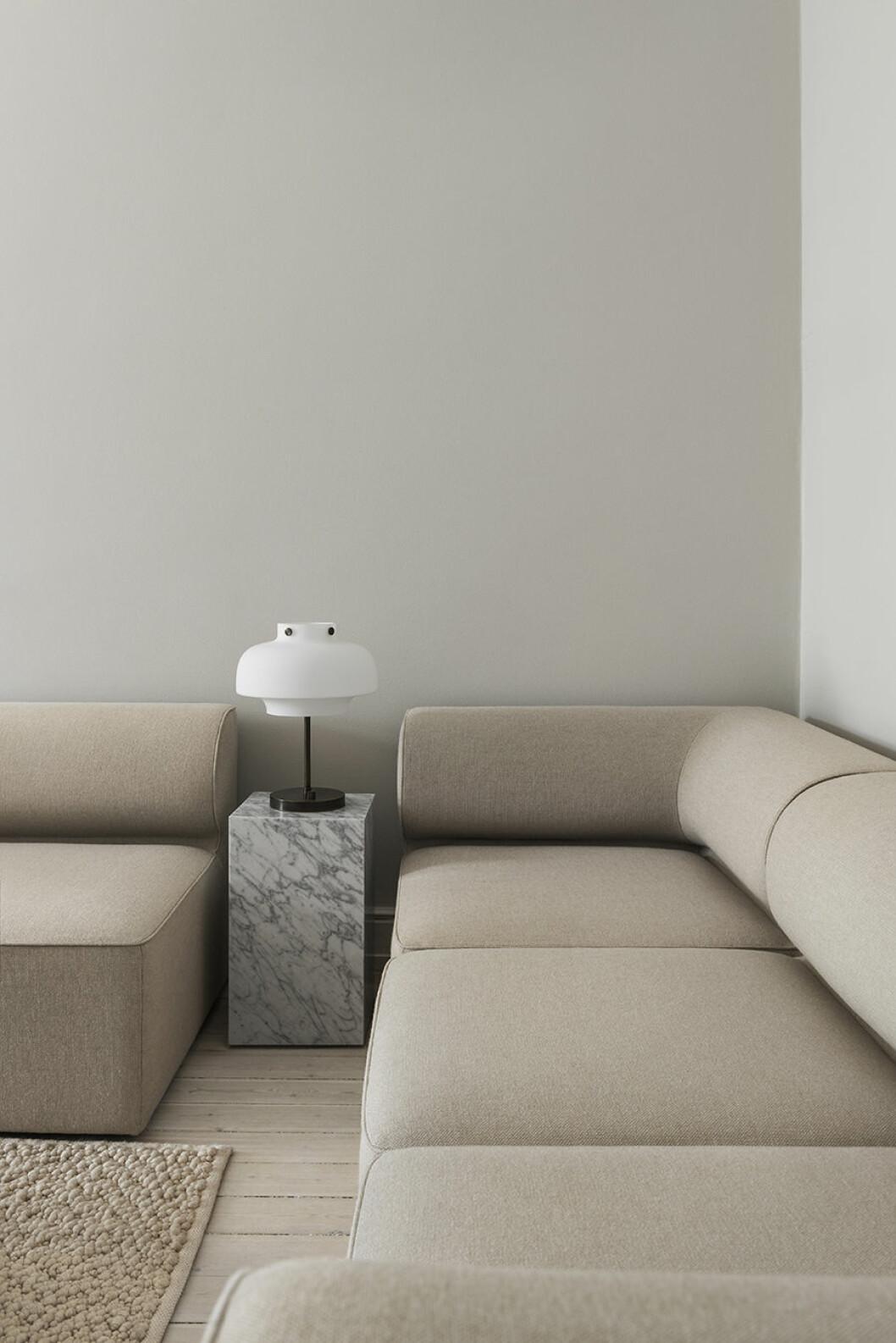 menu soffa lampa
