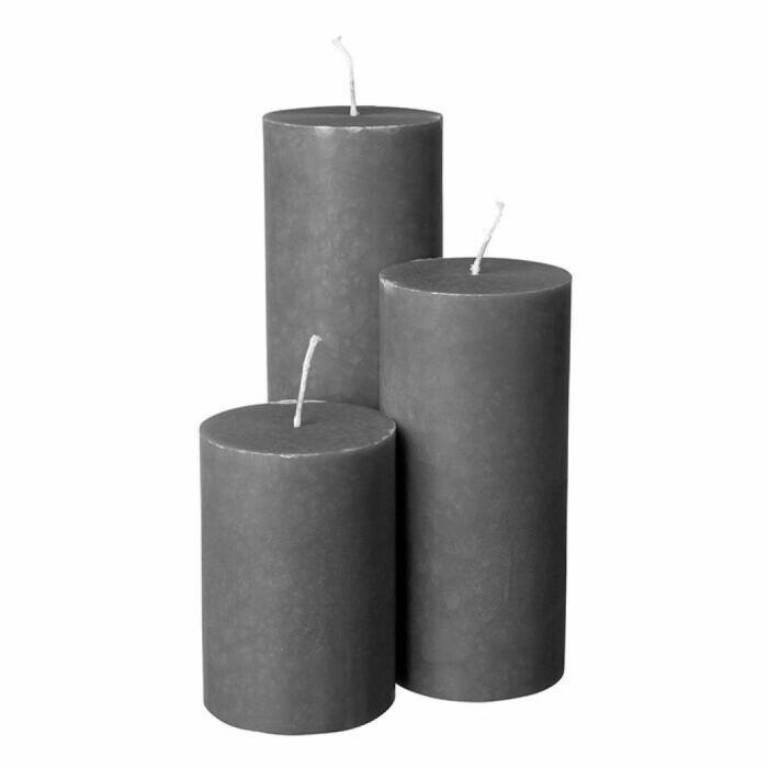 miljövänliga blockljus från granit